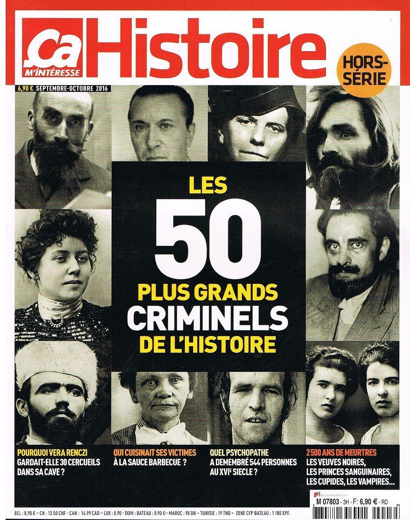 Les Plus Grands Meurtriers De L Histoire : grands, meurtriers, histoire, M'intéresse, Histoire, SERIE, Grands, Criminel, Rakuten