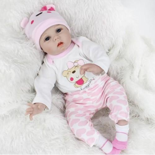 simulation 55cm bebe reborn poupon poupee