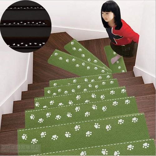 set de 10 escalier moderne step tapis tapis pour home decor tapis d escalier lumineux step pad vert