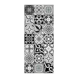 achat carreau de ciment noir et blanc