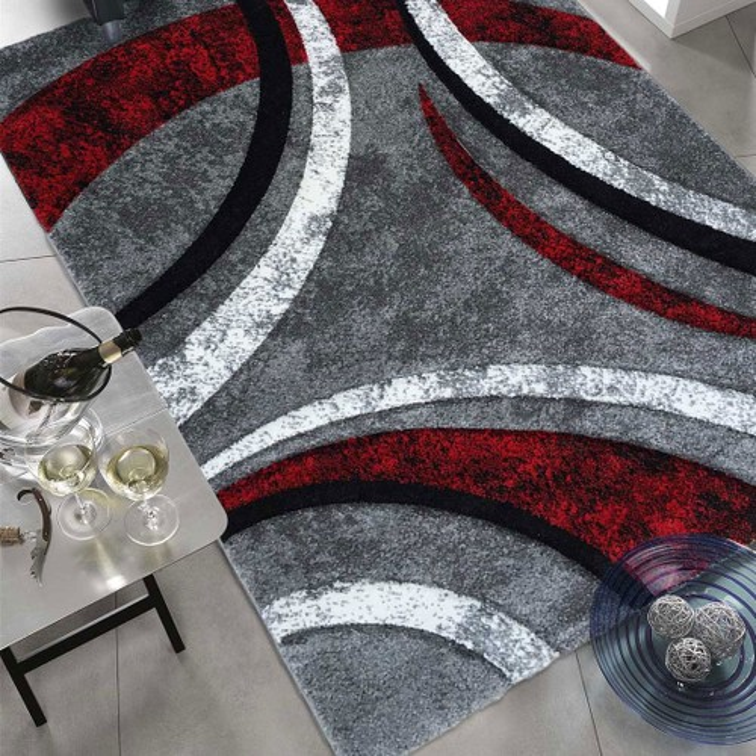 100x100 un amour de tapis tapis rond tapis salon moderne design tapis rond salon poils ras tapis chambre turquoise tapis rond rouge gris