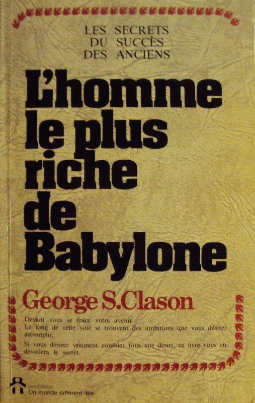 L'homme Le Plus Riche De Babylone : l'homme, riche, babylone, L'homme, Riche, Babylone, Autres, Rakuten