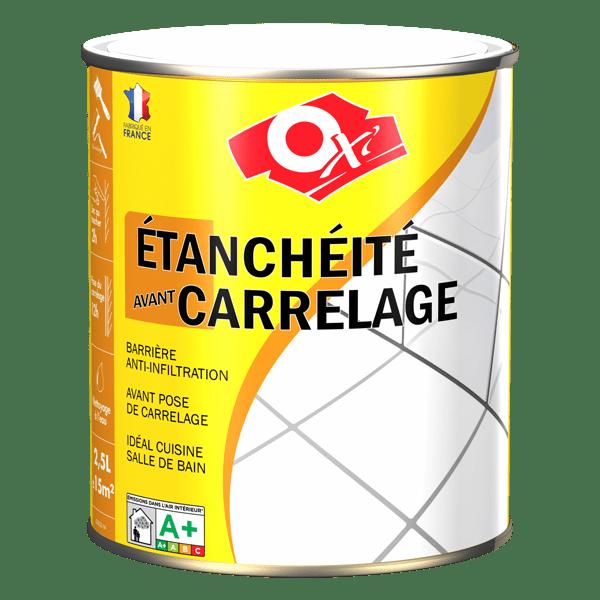 etancheite carrelage