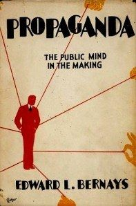 Propaganda, cover book edward bernays