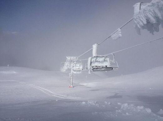 ski, snow