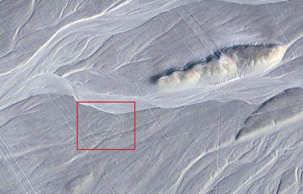 Lignes de Nazca un goglyphe en forme de labyrinthe  Histoire Secrte  Sottnet