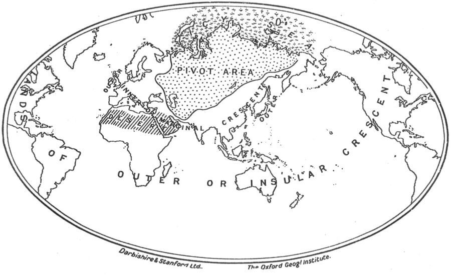 Géopolitique de l'Empire : la théorie du Heartland de