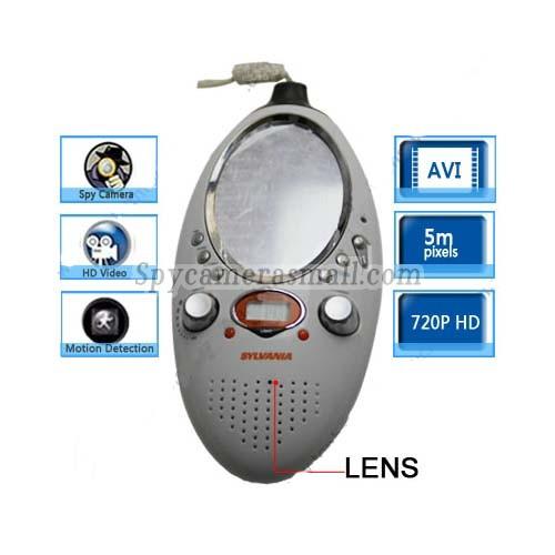 Bathroom Spy Shower Radio Camera