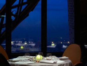 diner romantique au Jules Verne - Tour Eiffel - Paris