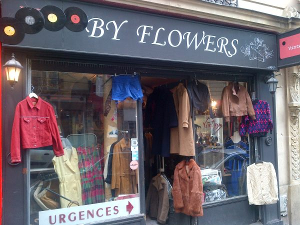 Vintage By flowers Paris