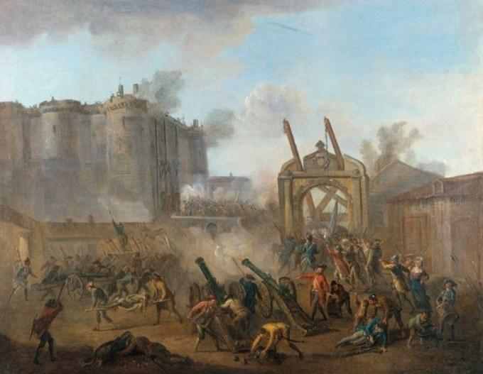 la prise de la Bastille à Carnavalet