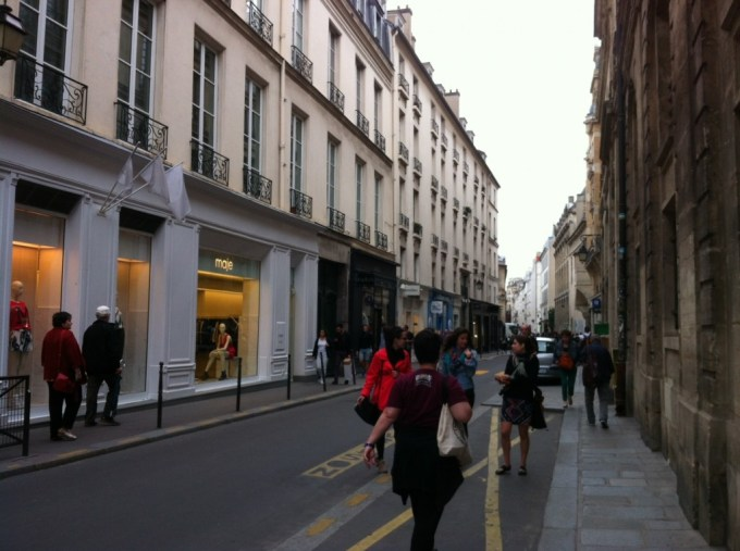 boutiques rue des Francs-Bourgeois