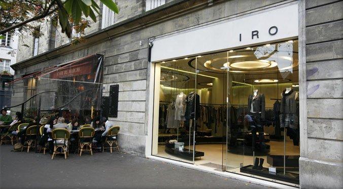 Boutique Iro rue Vielle du Temple -Marais- Paris