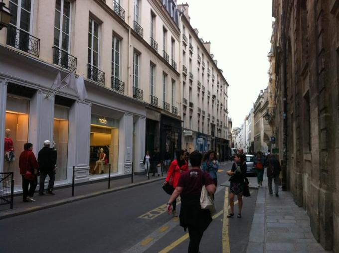 Boutiques dans le Marais - Paris