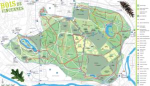 Itinéraire de course au Bois de Vincennes