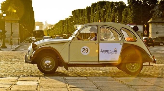 Activité 2cv à Paris