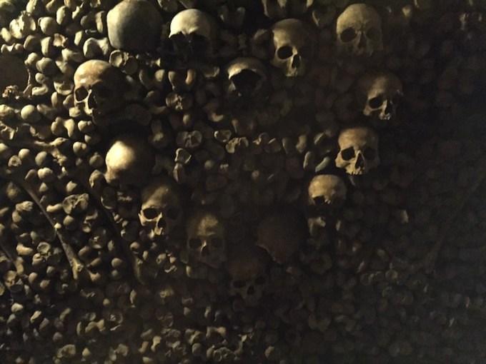 Visite des Catacombes à Paris