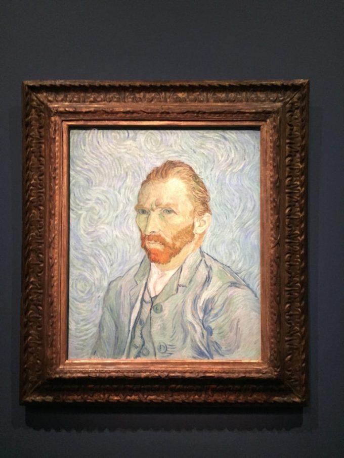 Autoportrait de Van Gogh au Musée d'Orsay