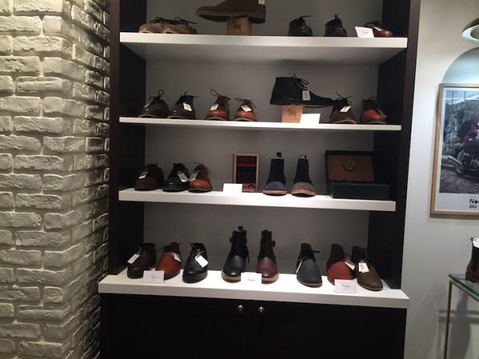 Boutique de Chaussures à Paris : M. Moustache