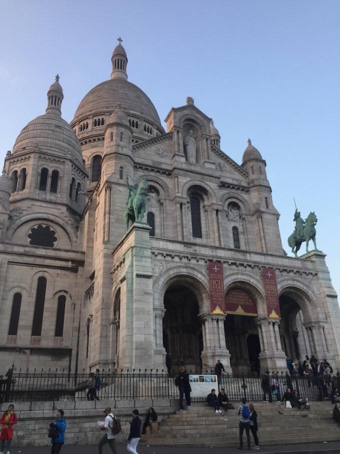 Le Sacré Coeur à Montmartre