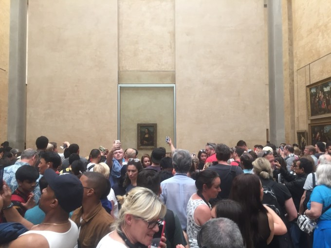 Affluence au Louvre pour la Joconde