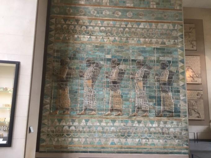 Antiquités Perses au Louvre