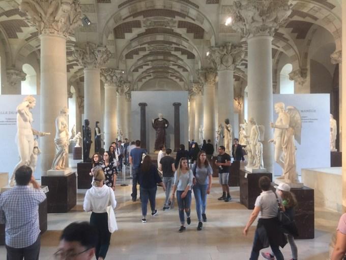 Musée du Louvre: antiquités grecs