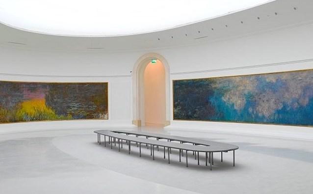 Nympéas de Monet au Musée de l'Orangerie