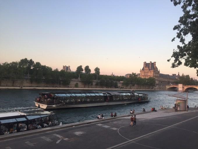 Dîner des Bateaux Parisiens