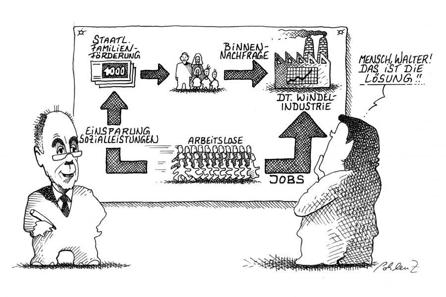 Cartoon: Riester (large) by Pohlenz tagged riester,riesterrente,rente,renten,riester,riesterrente,vorsorge,rentner,geld,wirtschaft,finanzen,wirtschaftskrise,arbeit,job,lösung,plan
