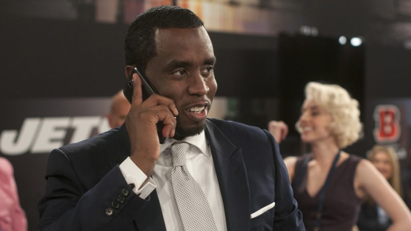 "This image released by Summit Entertainment shows Sean Combs in a scene from ""Draft Day."" (AP Photo/Summit Entertainment, Dale Robinette)"
