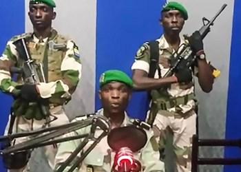 VIDEO: Coup d'État militaire en cours au Gabon