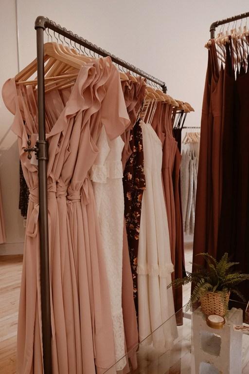 Boutique de robes Park & Fifth dans l'est de Toronto