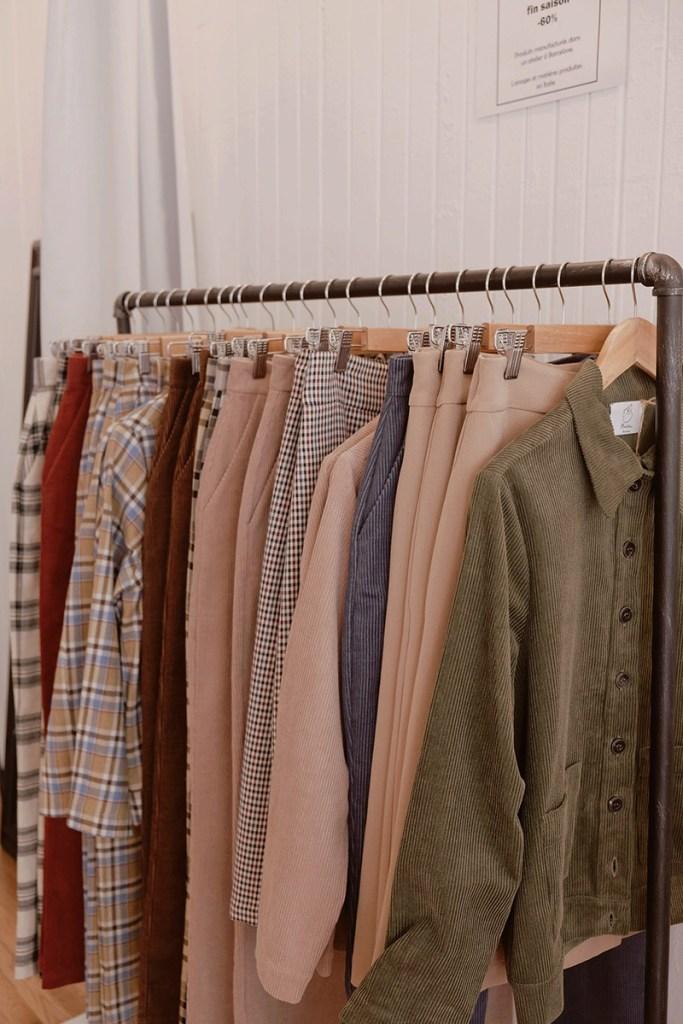 Nouvelle boutique de mode éthique Murri sur le Plateau à Montréal
