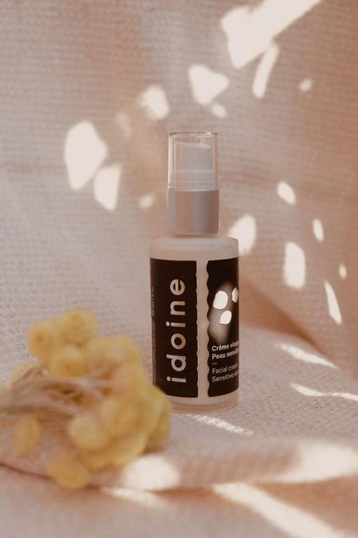 Hydratant pour le visage pour peau sensible par Idoine