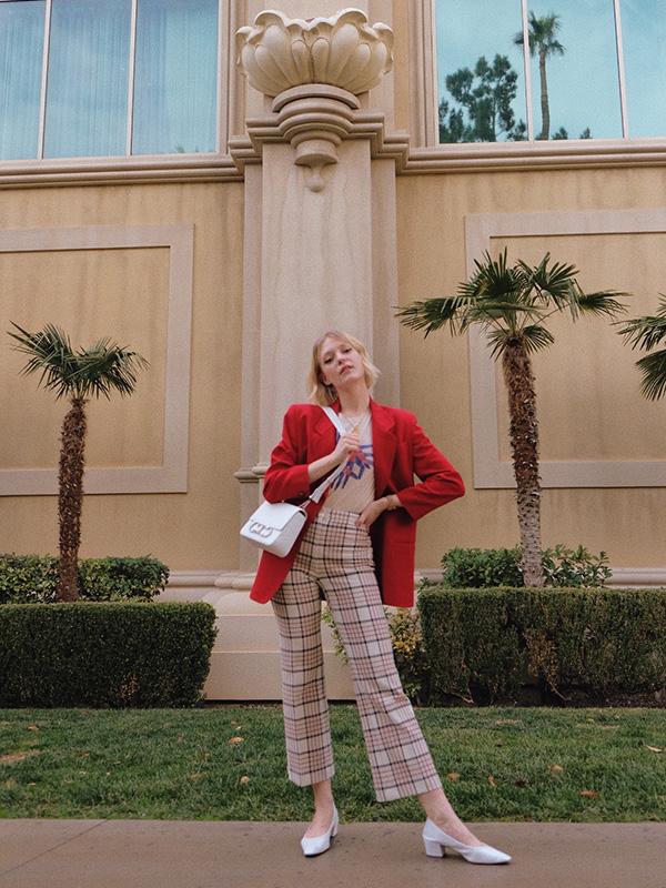Joëlle Paquette au salon MAGIC à Las Vegas.