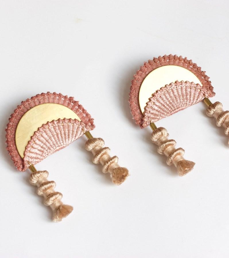 Boucles d'oreilles This Ilk fabriquées au Québec