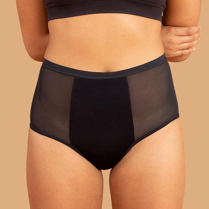 Culotte menstruelle taille haute de la marque Thinx