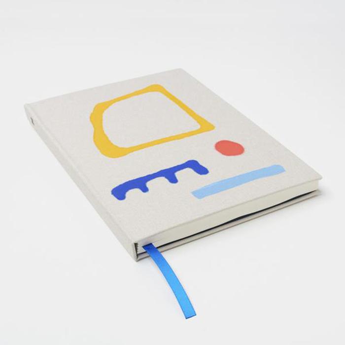 Cahier de notes peint à la main par MOGLEA
