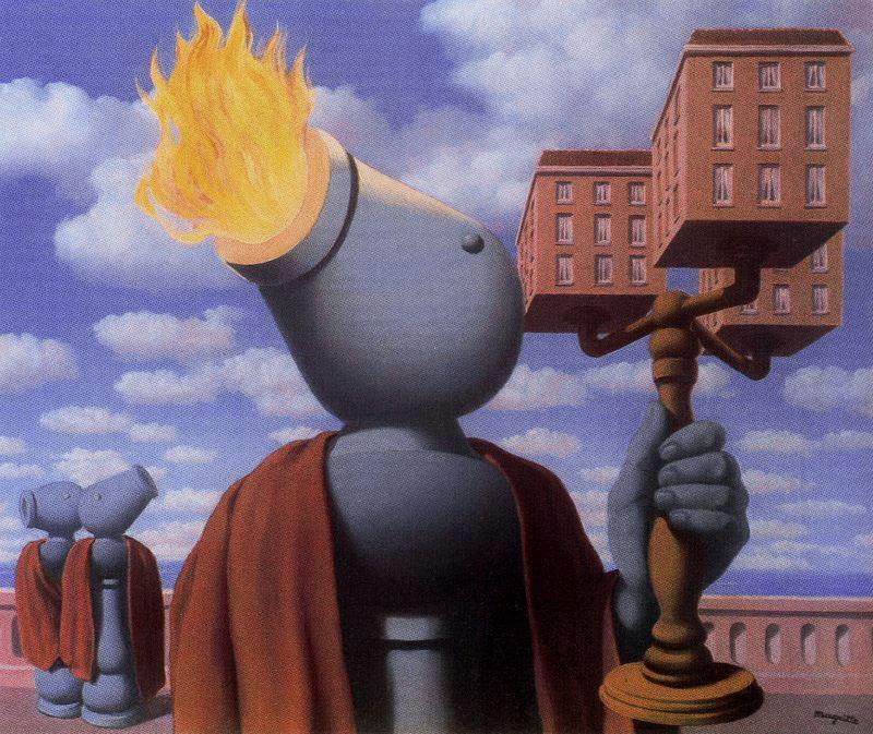 視覺傳達設計: 比利時超現實主義畫家 雷尼‧馬格利特 (1898-1967) 作品欣賞