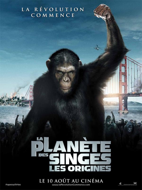La Planète Des Singes : L'affrontement : planète, singes, l'affrontement, REVOLTE, SINGES, Planète, Singes, Origines, Affrontement), Films, Séries
