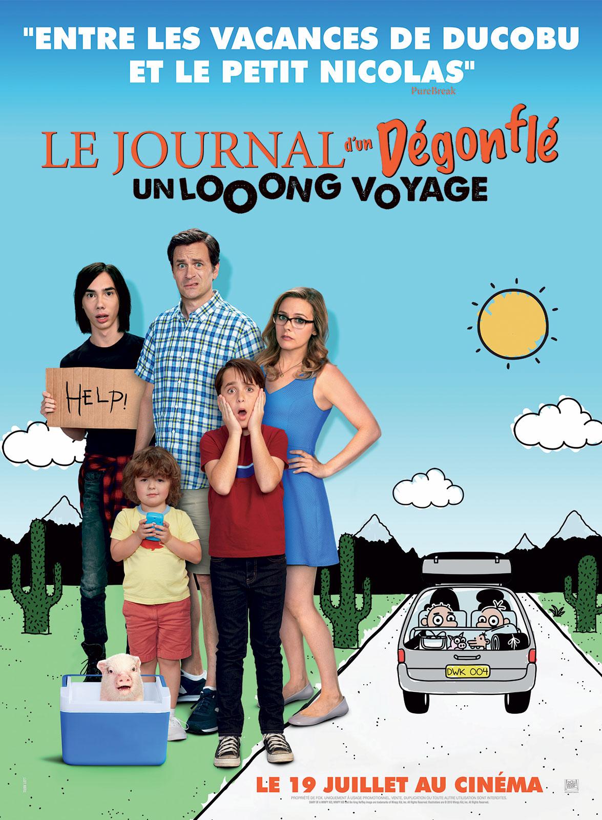 Journal d\`un dégonflé : un looong voyage Franç