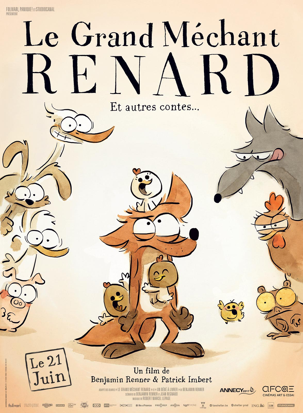 Le Grand Méchant Renard et autres contes