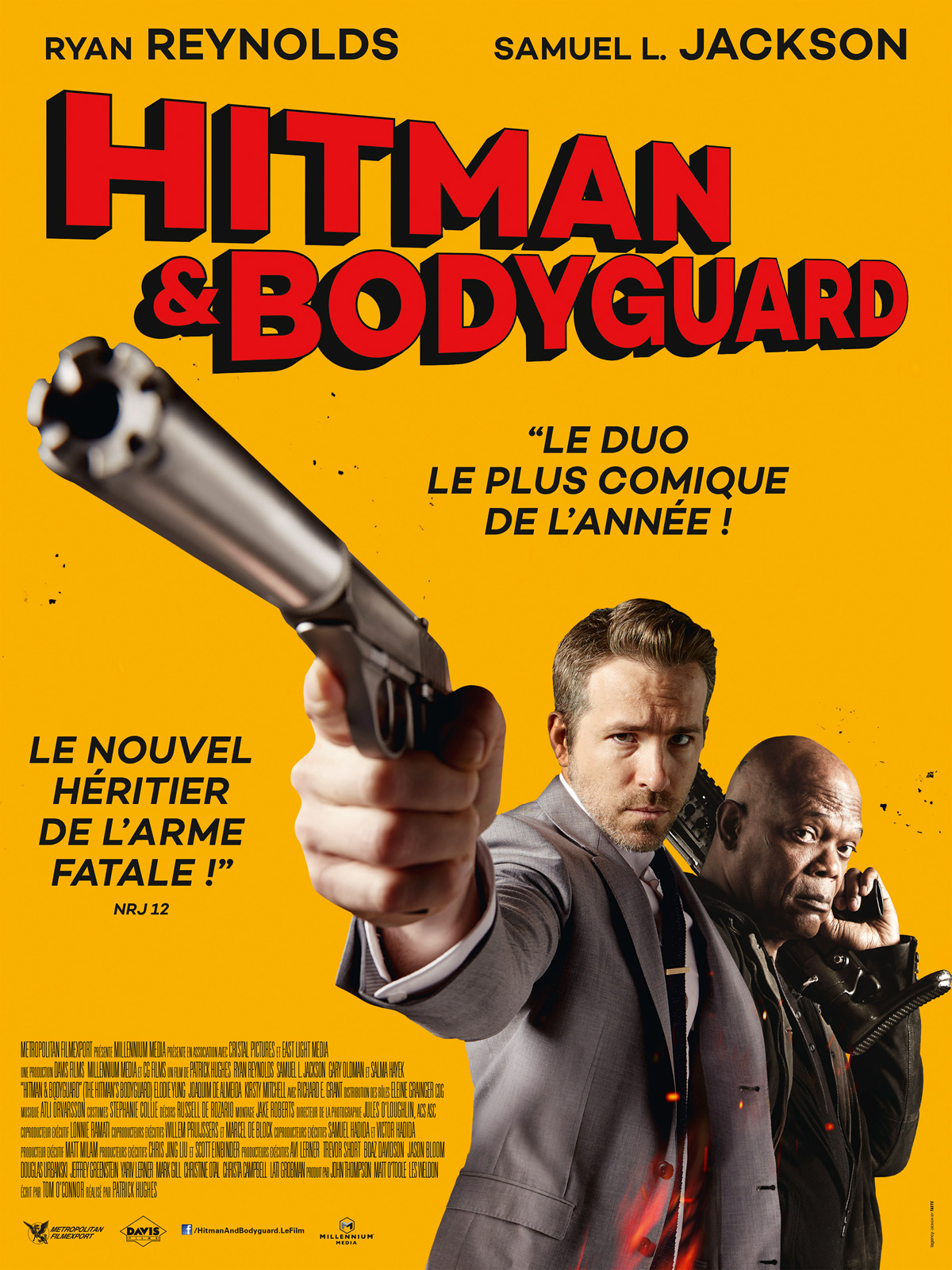 Hitman & Bodyguard Truefrench HDRiP
