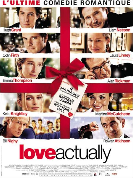 Love Actually : Affiche Colin Firth, Emma Thompson, Hugh Grant, Keira Knightley, Laura Linney