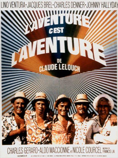 L'Aventure, c'est L'Aventure : Affiche