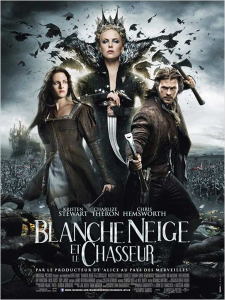 Blanche-Neige et le chasseur : affiche