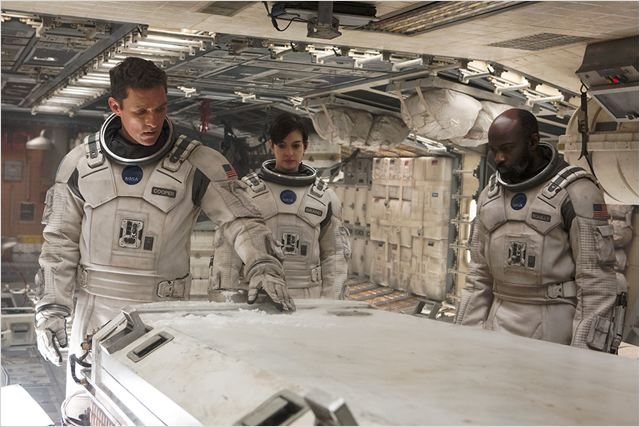 Interstellar : Photo Anne Hathaway, David Gyasi, Matthew McConaughey