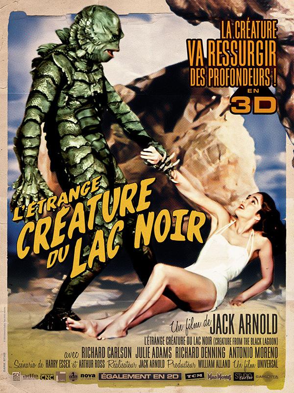 L'Etrange créature du lac noir - film 1954 - AlloCiné