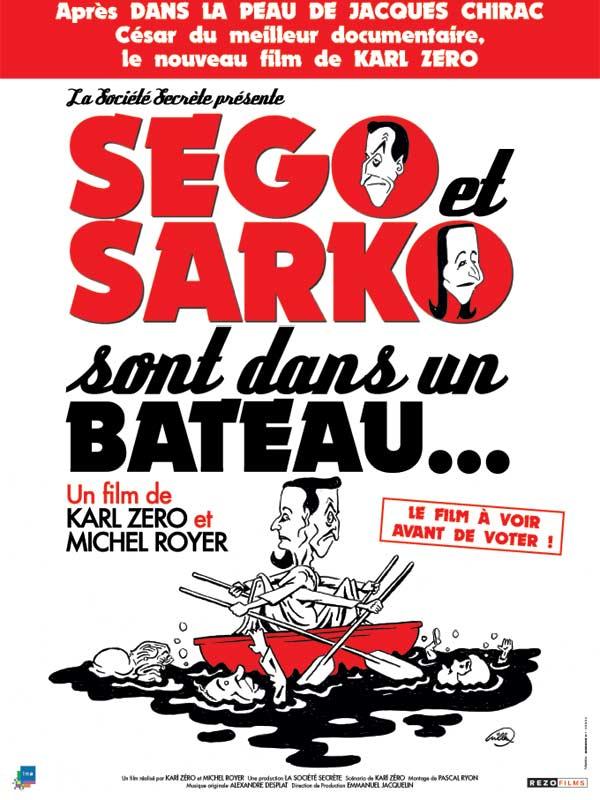 Dans La Peau De Jacques Chirac Streaming Vf : jacques, chirac, streaming, Ségo, Sarko, Bateau, AlloCiné
